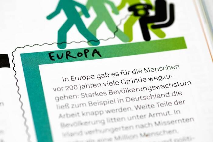 Fragen an Europa by Gesine Grotrian & Susan Schädlich (Beltz & Gelberg) 8