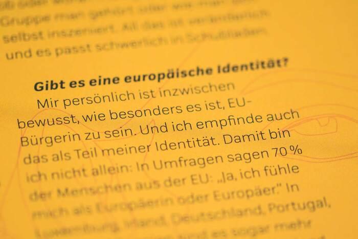 Fragen an Europa by Gesine Grotrian & Susan Schädlich (Beltz & Gelberg) 9