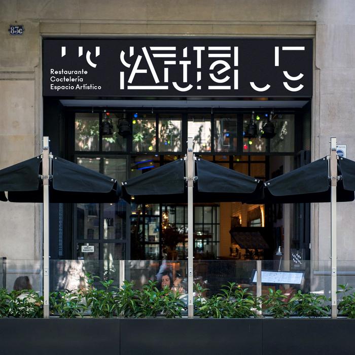 Artte bar, Barcelona 1