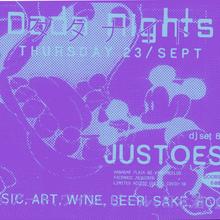 Dada Nights flyers, September 2021