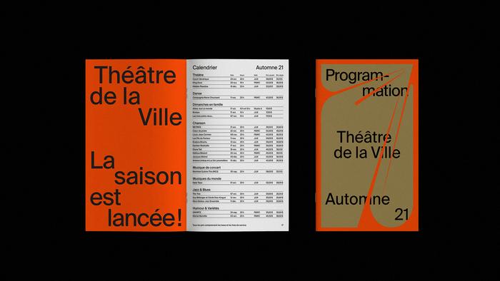 Théâtre de la Ville 2021–2022 6