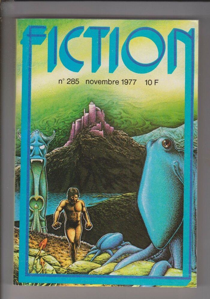 Fiction #285, November 1977, with cover art by Christian Rivière.