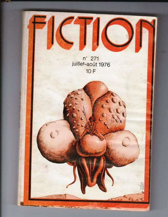 Fiction #271, July/August 1976, with cover art by Claude Lacroix.