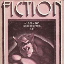 "<cite>Fiction</cite> magazine logo and covers (<span class=""nbsp""></span>1973–1984)"