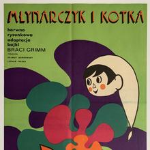 <cite><span><span><span>Młynarczyk i kot</span></span></span>ka</cite> (1971) Polish movie poster