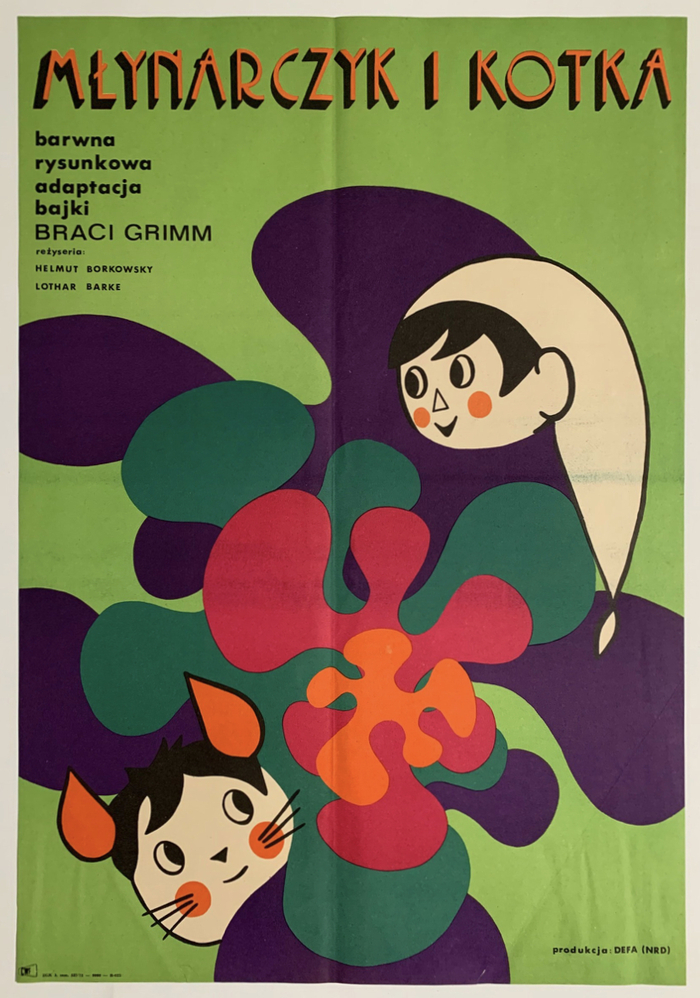 Młynarczyk i kotka (1971) Polish movie poster