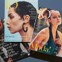 <cite>iO Donna </cite>magazine