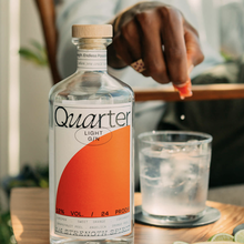Quarter Gin identity and website