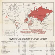 1964 Barry Goldwater campaign handbill