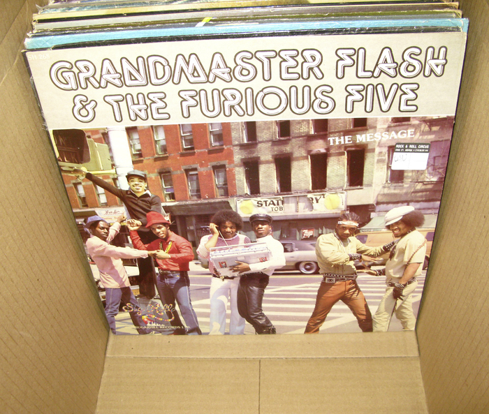 Grandmaster Flash & The Furious Five – The Message album art 2