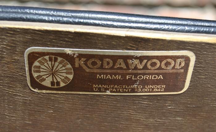 Kodawood Furniture Label 3