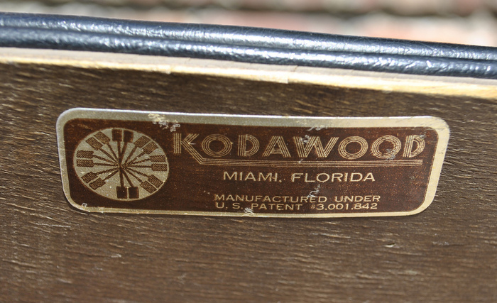 Kodawood Furniture Label 3