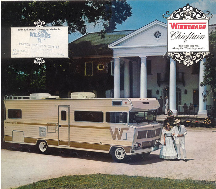 Winnebago Chieftain Brochure 1
