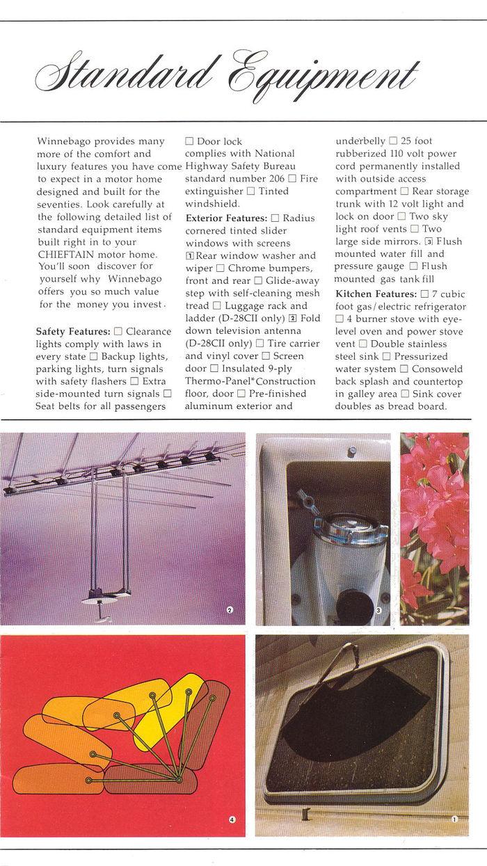 Winnebago Chieftain brochure 2