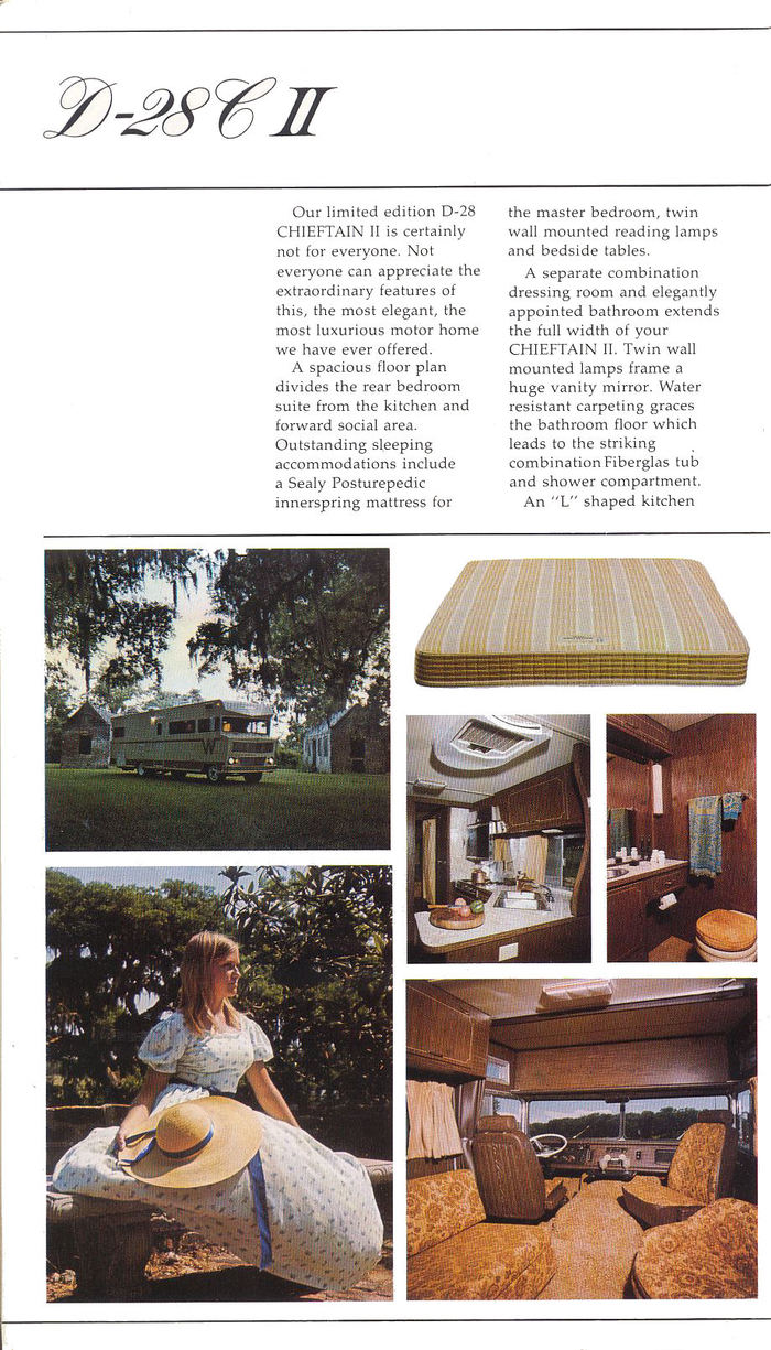 Winnebago Chieftain Brochure 5