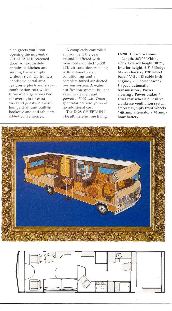 Winnebago Chieftain brochure 6