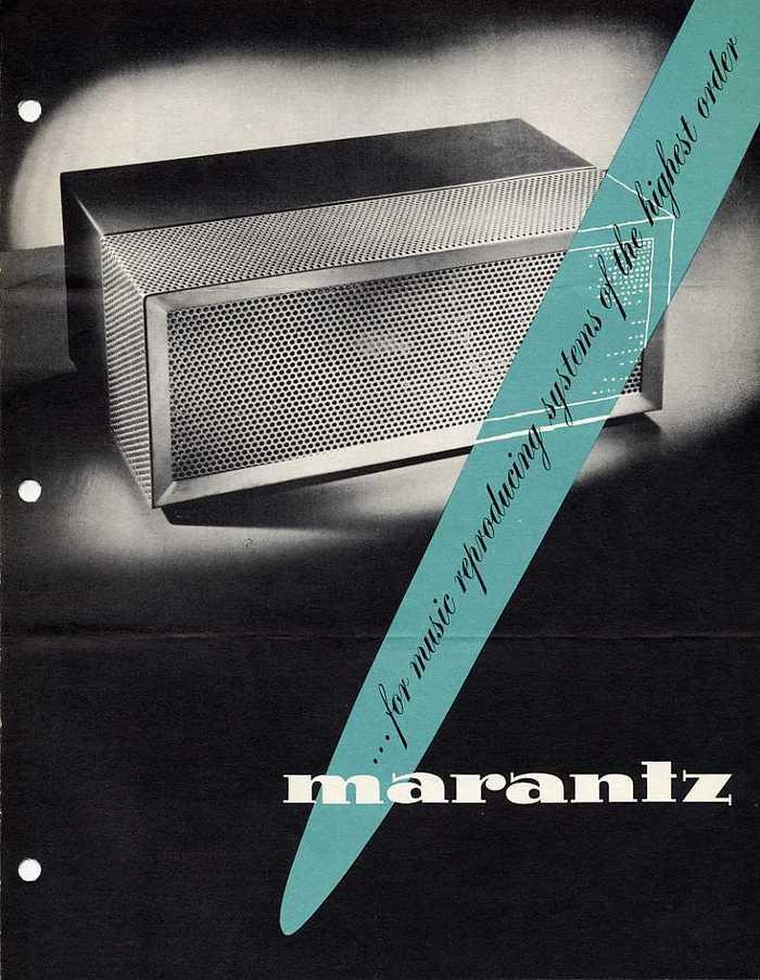Audio Consolette Model 2 brochure (amplifier shown)