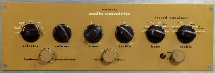 Audio Consolette Model 2 brochure (amplifier shown)