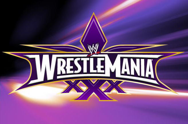 WrestleMania XXX - Fonts In Use