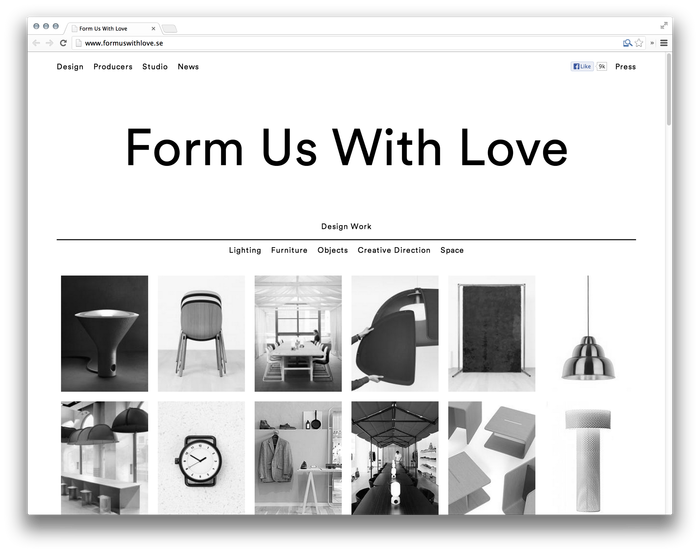 Form Us With Love website 1