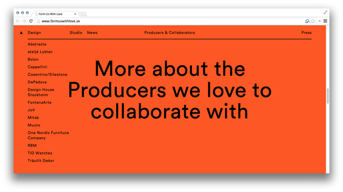 Form Us With Love website 5