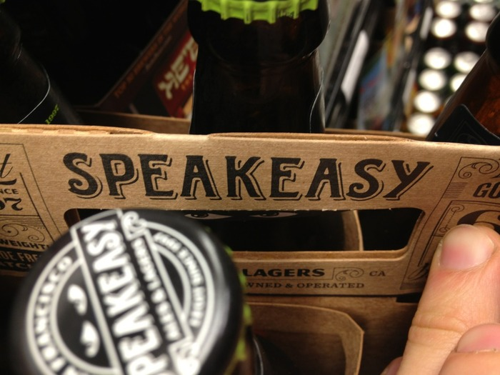 New logotype on a bottle box.