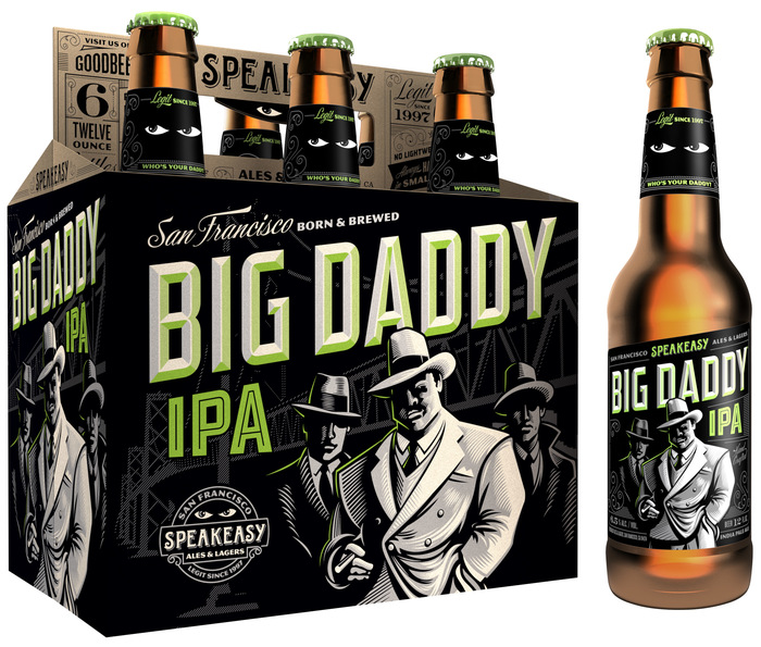 Speakeasy Prohibition Ale & Big Daddy IPA (2013 Packaging) 1