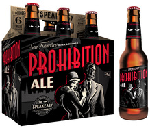 Speakeasy Prohibition Ale & Big Daddy IPA (2013 Packaging)