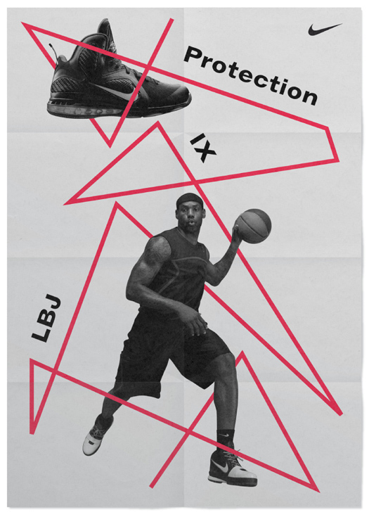 Nike LeBron 9 Shoes Ads (Design Explorations) 1