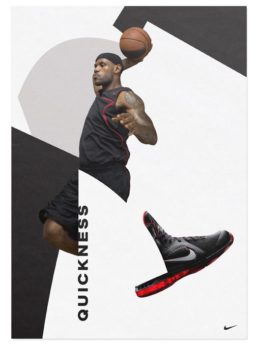 Nike LeBron 9 Shoes Ads (Design Explorations) 3