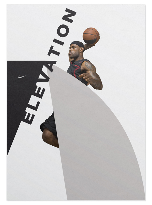 Nike LeBron 9 Shoes Ads (Design Explorations) 5