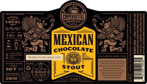 Mexican Chocolate Stout 1