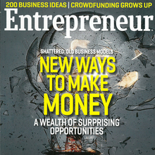 <cite>Entrepreneur</cite> magazine covers, 2012–13