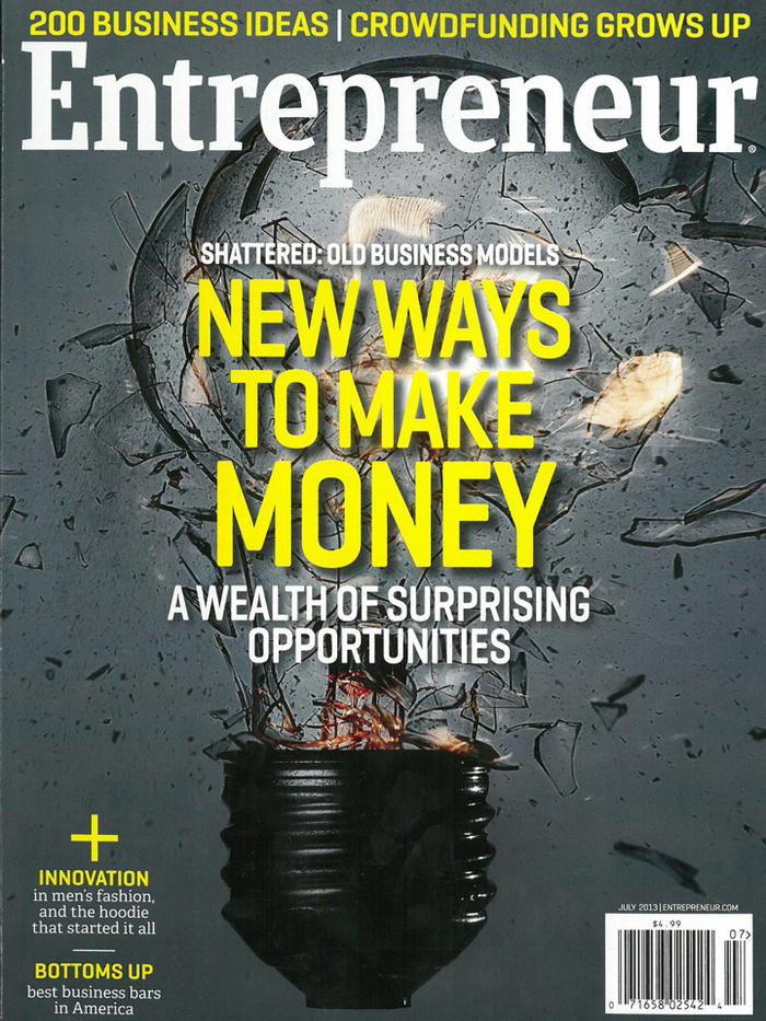 Entrepreneur magazine covers, 2012–13 1