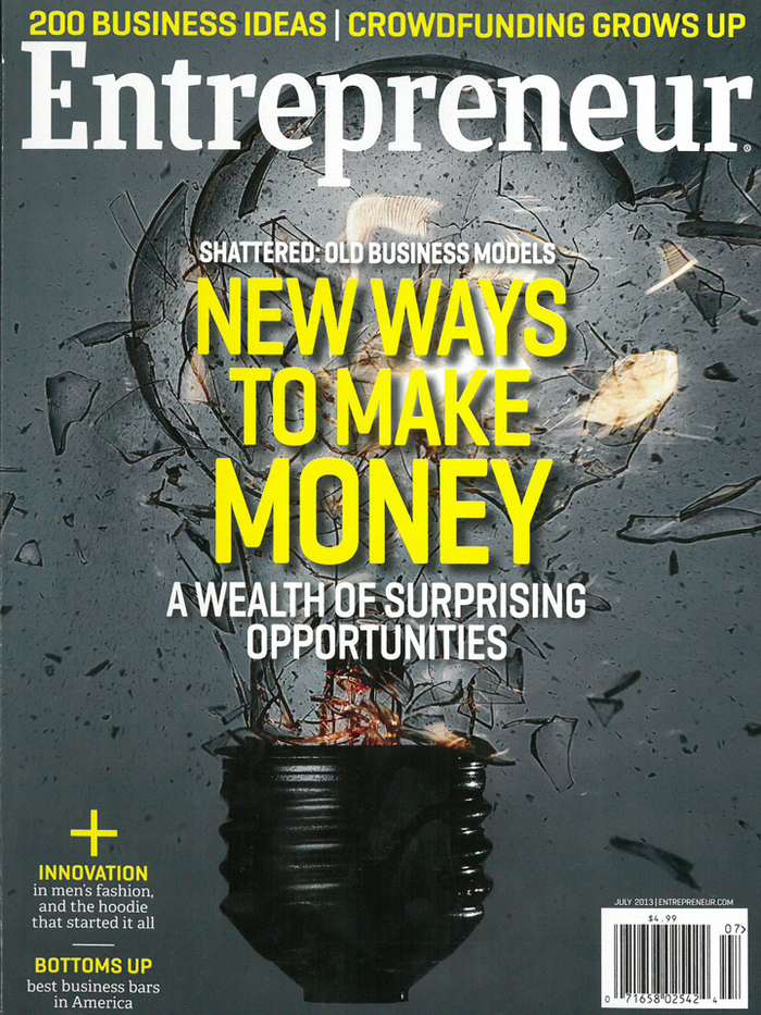 Entrepreneur magazine covers, 2012–13 1