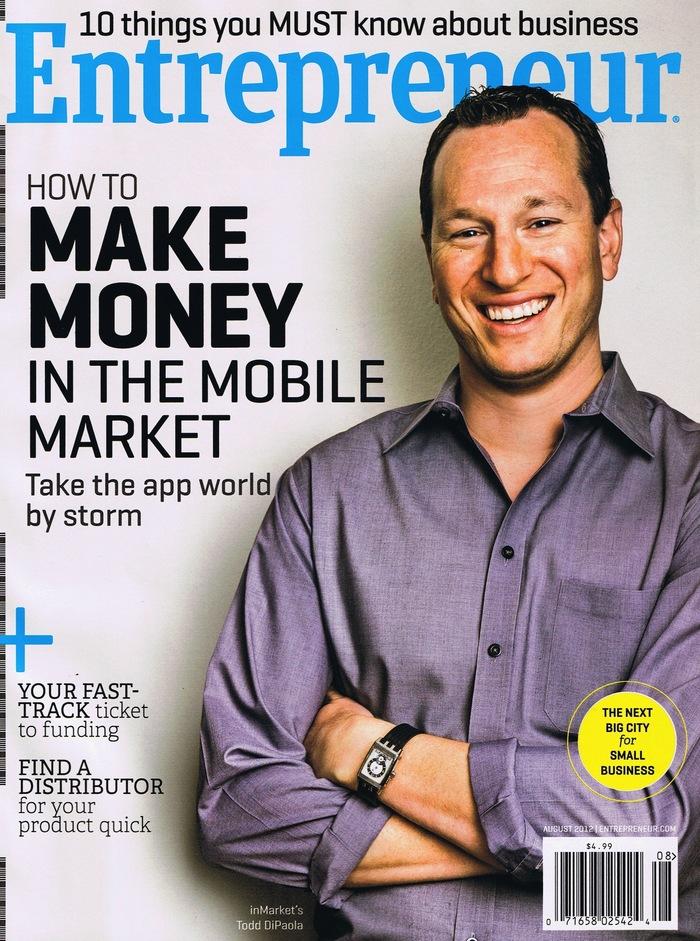 Entrepreneur magazine covers, 2012–13 4
