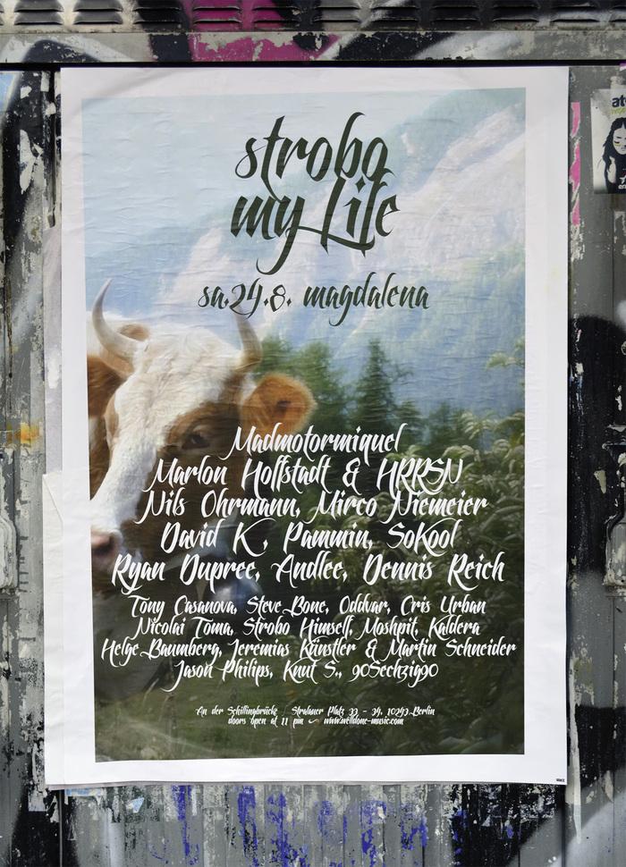 Strobo My Life event poster 1