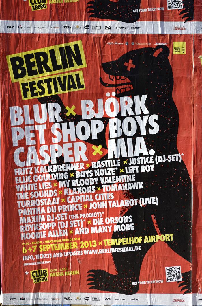 Berlin Festival posters 2
