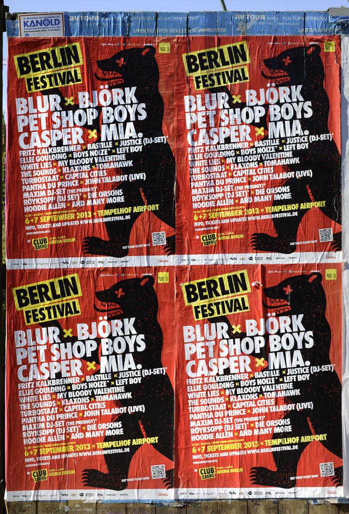 Berlin Festival posters 3