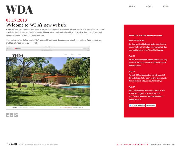 William Duff Architects Website 3