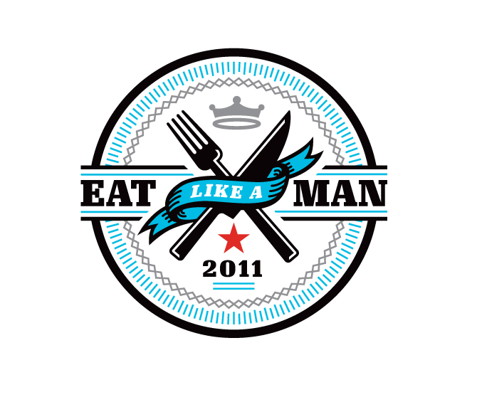 "Illustration for Esquire, March 2011: ""Eat Like A Man"" 1"