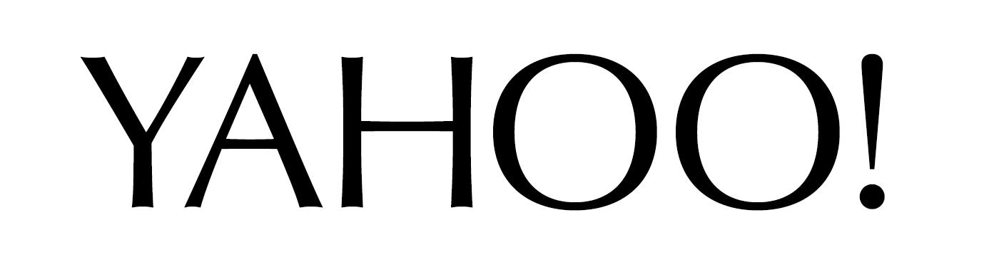 Yahoo Logo 2013 Fonts In Use