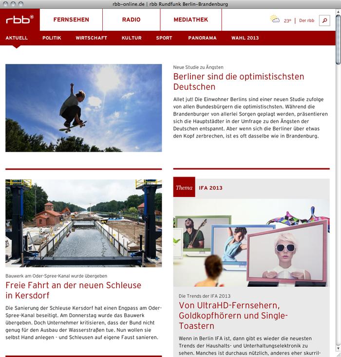 RBB Radio Brandenburg Berlin Website 4