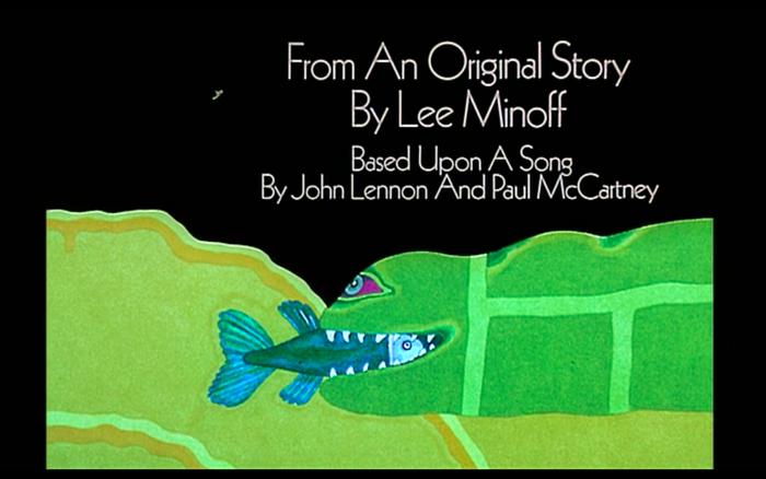 Yellow Submarine (1968) opening credits 1