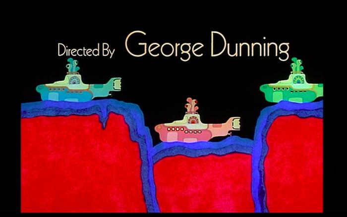 Yellow Submarine (1968) opening credits 2