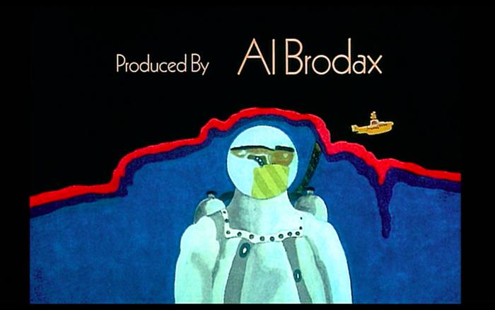 Yellow Submarine (1968) opening credits 3