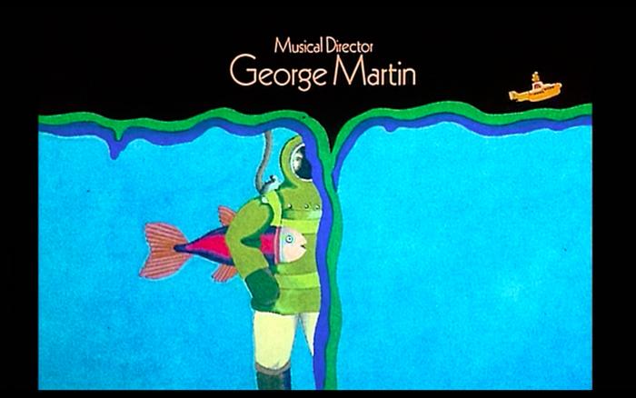 Yellow Submarine (1968) opening credits 5