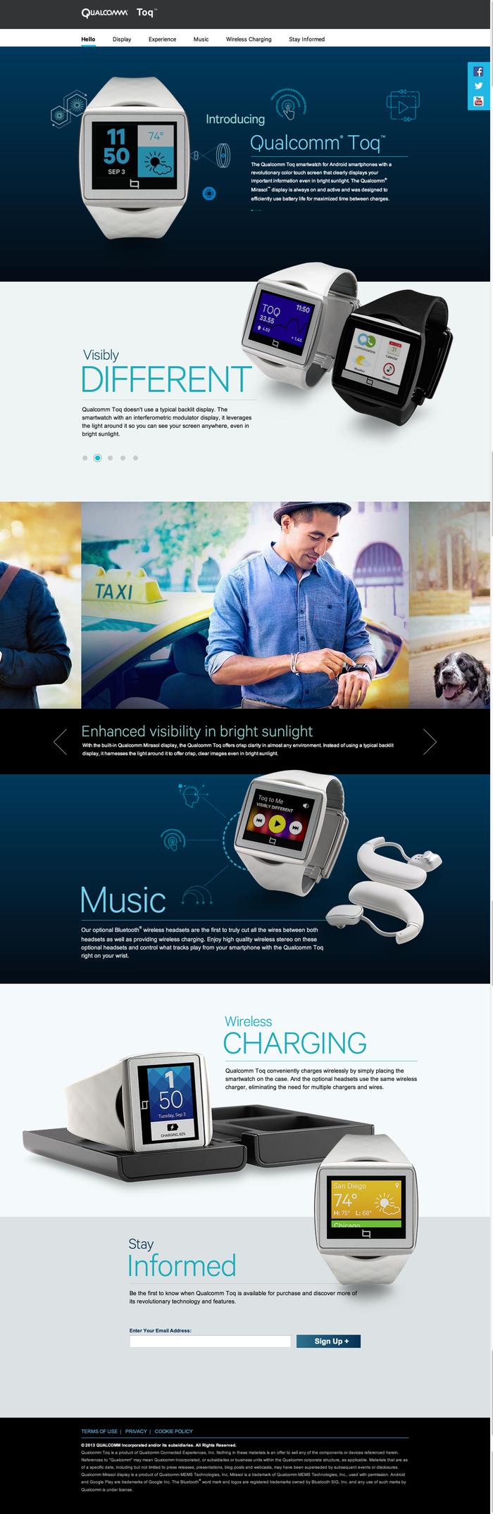 Qualcomm Toq Smartwatch 1
