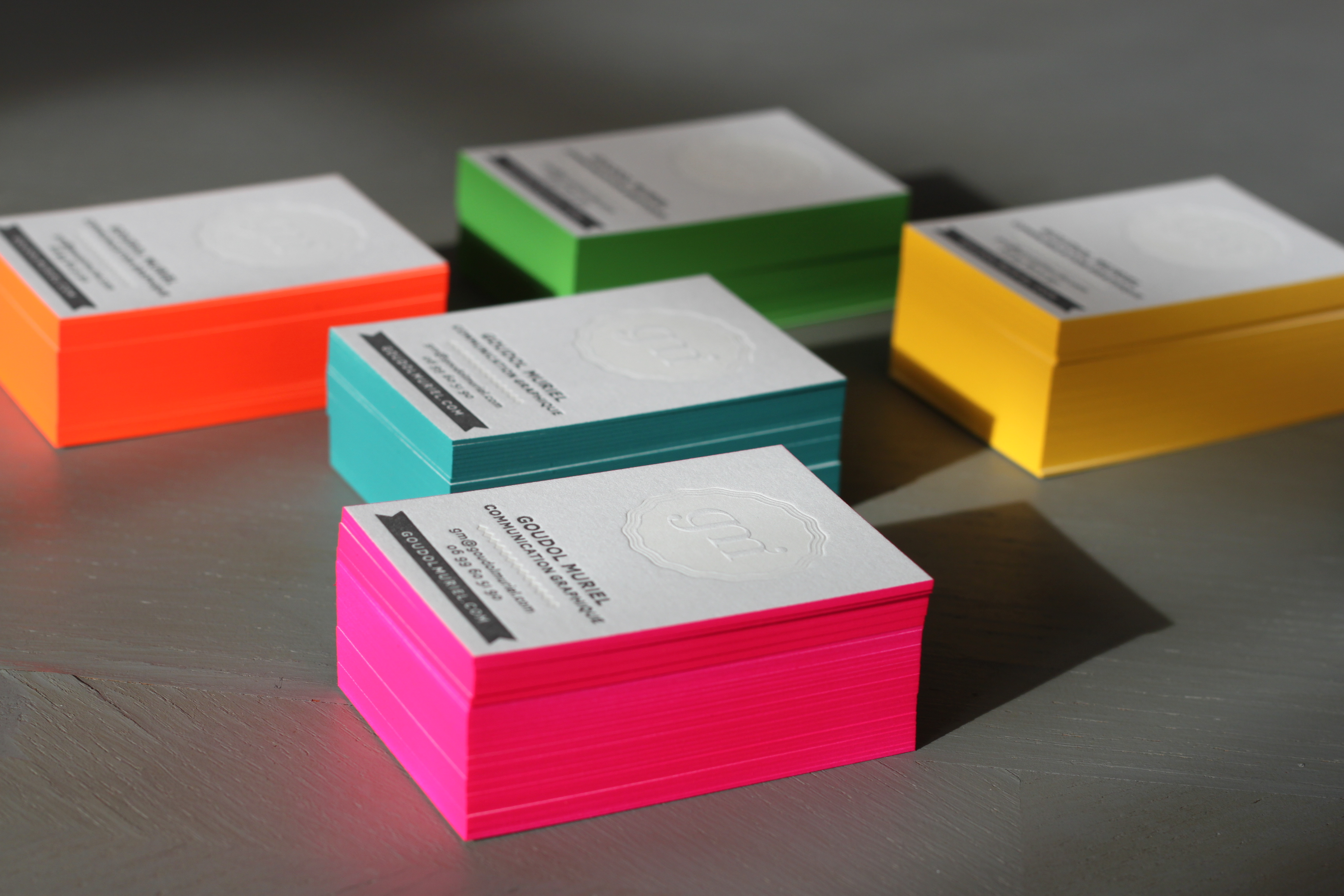 Goudol muriel business cards fonts in use goudol muriel business cards 1 colourmoves