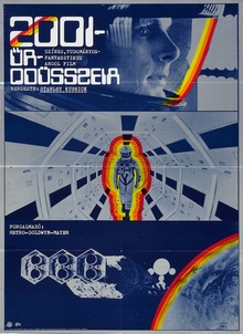 <cite>2001: A Space Odyssey</cite> (1979) Hungarian movie poster